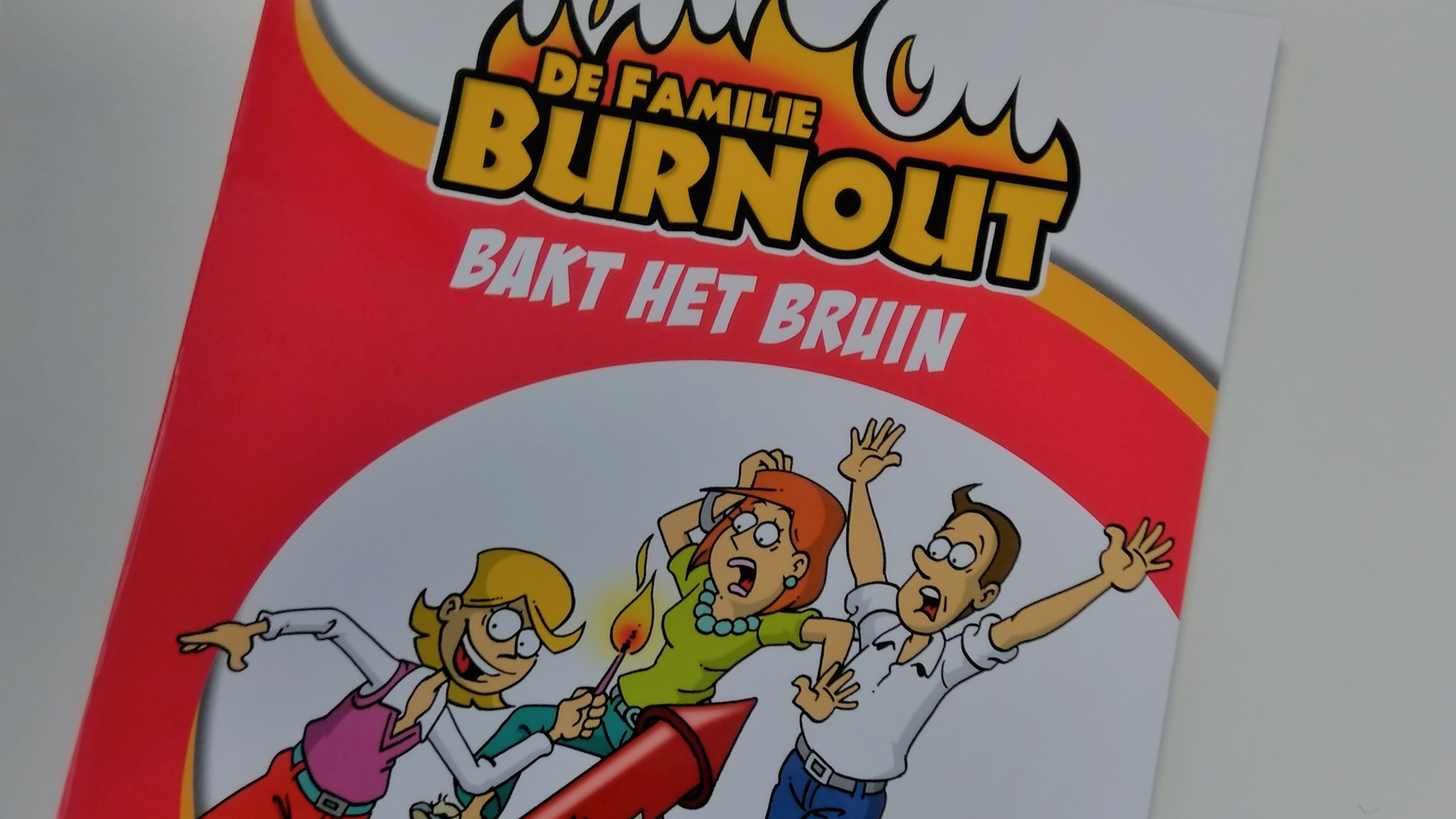 Familie Burnout in de bib!